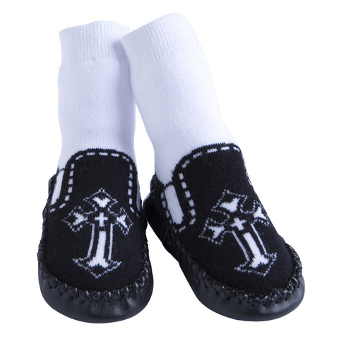 Slippers: Gothic Cross