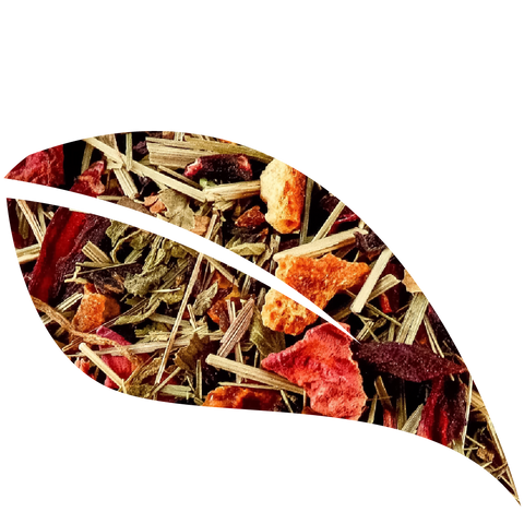 Sweet Hibiscus Mint, Herbal Tea