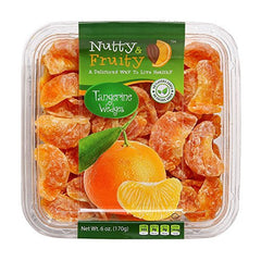 Nutty & Fruity - Dried Tangerine Wedges - 6 oz Box