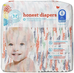 Honest Company Diapers Giraffes size 6: 22 diapers