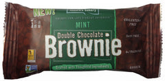 Nature's Bakery Double Chocolate Mint Brownies twin pack 2 oz