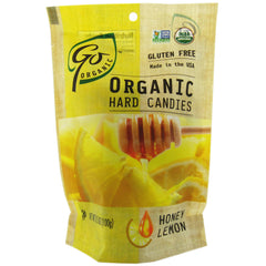 GoOrganic Organic Honey Lemon Hard Candy 3.5 oz. Bag