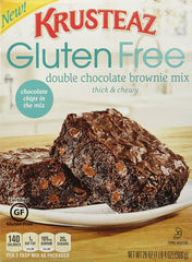 Krusteaz Gluten Free Double Chocolate Brownie Mix 20 oz.