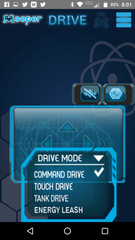 meeperBOT Controller App Drive Modes