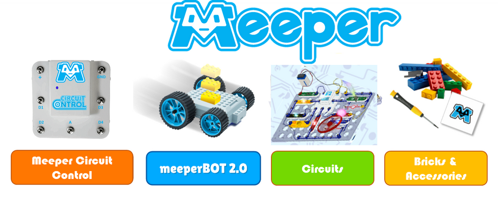 meeperBOT Single - STEM Kit Upgrade