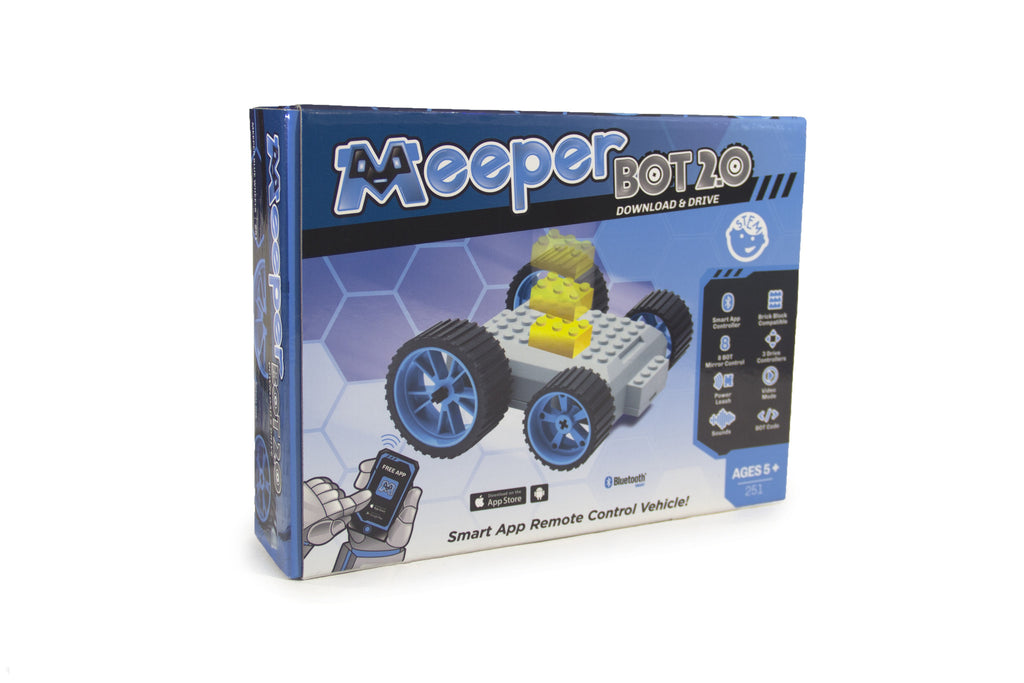 X - meeperBOT 2.0 - Meeper Blue