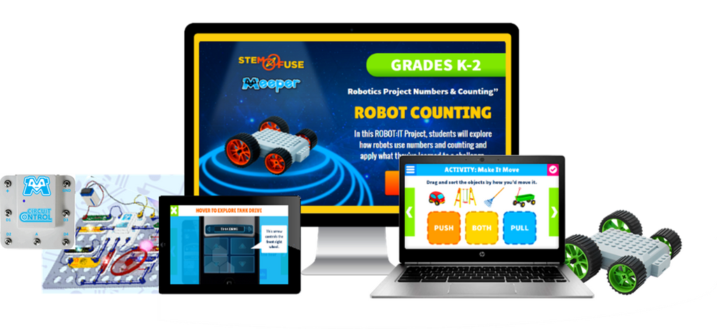 Remote Robotics Curriculum powered by Meeper