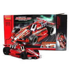 X - Combo Package - meeperBOT 2.0 & Dazzling Red Racer - 3412