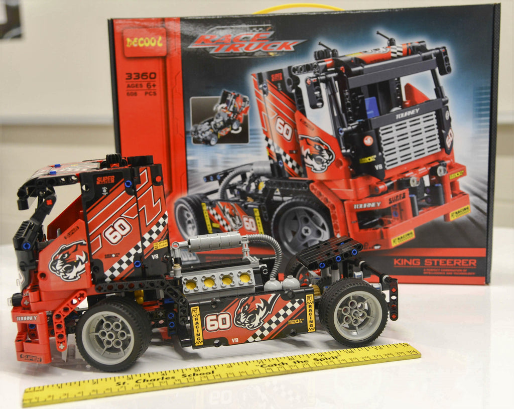 Combo Kit:  meeperBOT 2.0 + DeCool #3360 - Semi Race Truck