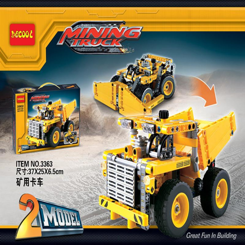 DeCool #3363 - Mining Dump Truck - NOW 30% OFF