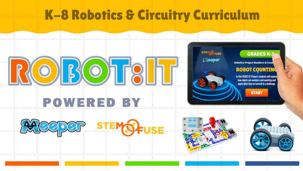 ROBOT:IT Kit - Meeper Robotics Kits