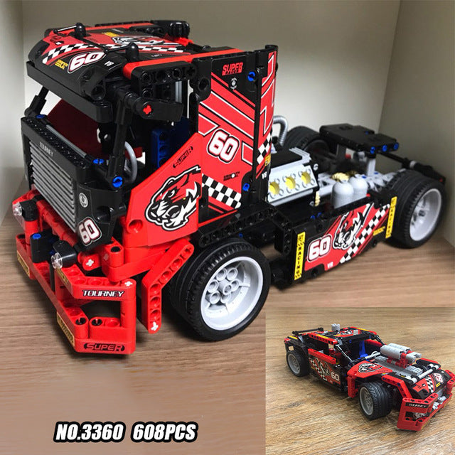 Take 50% Off DeCool #3360 - Semi Race Truck