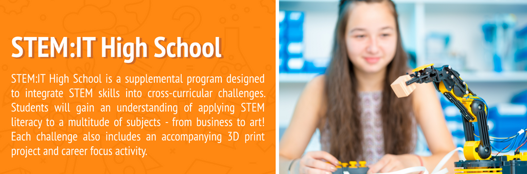 STEM:IT Curriculum Series - Elementary, Middle & High School
