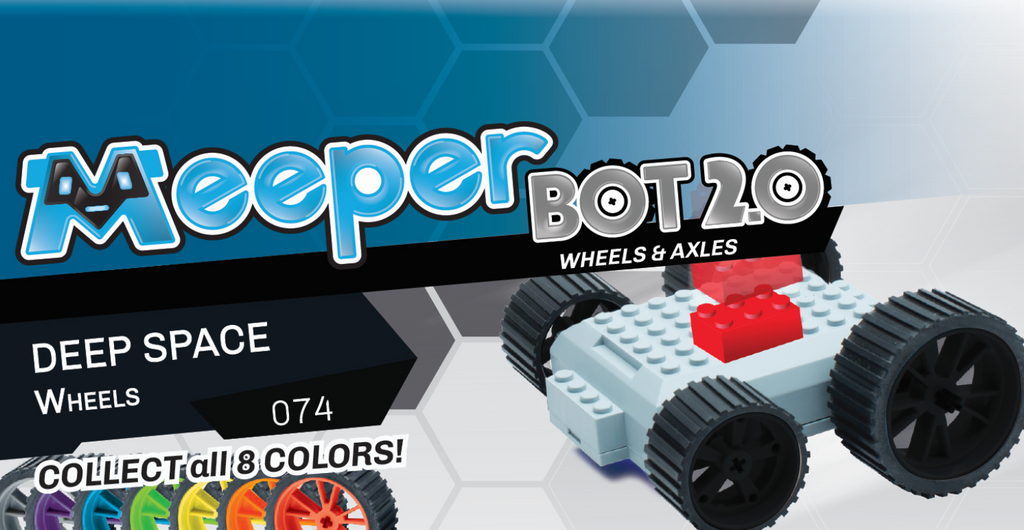 X - meeperBOT 2.0 Wheel Pack - Deep Space
