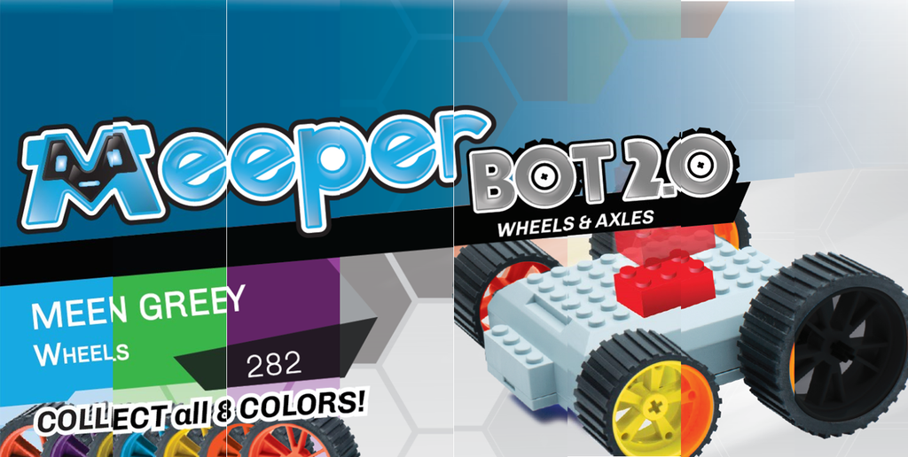 meeperBOT 2.0 Wheel Pack