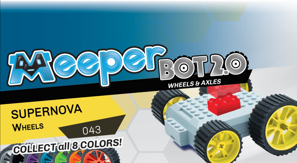 X - meeperBOT 2.0 Wheel Pack - Supernova