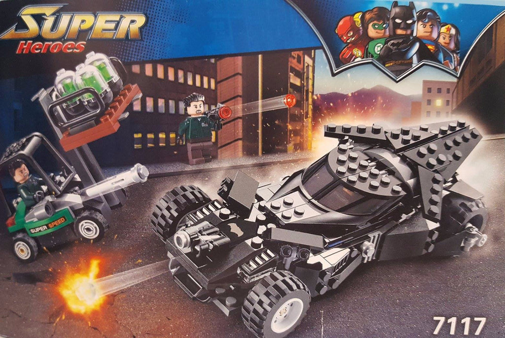 X - Combo Kit: meeperBOT 2.0 & DeCool #7117 - Super Heroes Bat Mobile