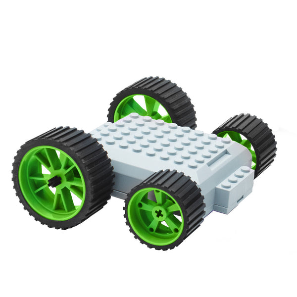 meeperBOT V2.0 - Neon Green Wheels