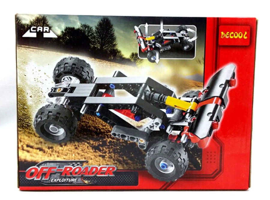 Combo Kit:  meeperBOT 2.0 + DeCool #3343 - Offroader Dragster