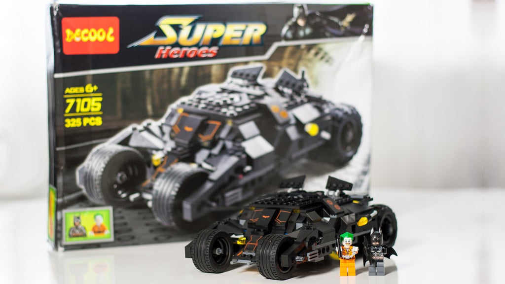 X - Combo Package - meeperBOT 2.0  & Super Heroes Batman Tumbler – 7105