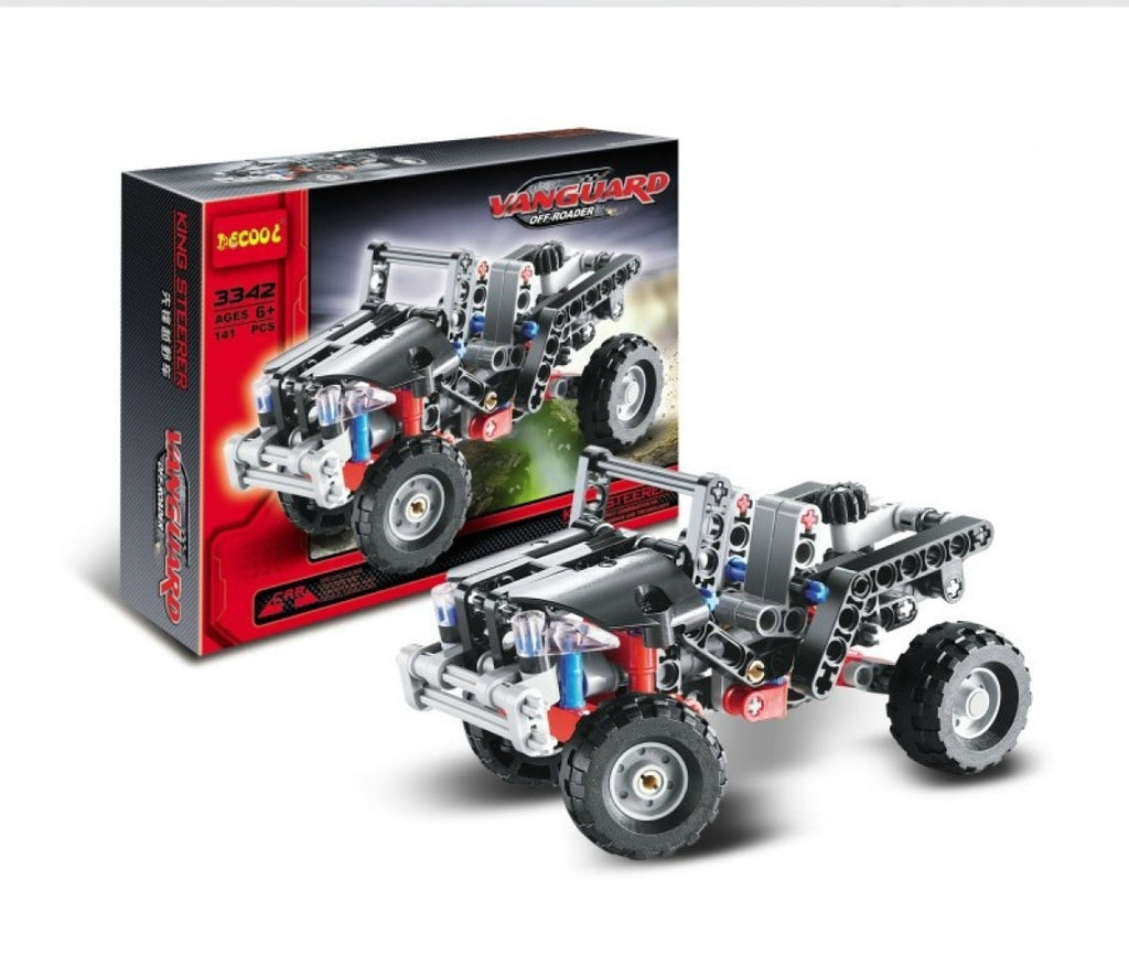 DeCool #3342 - Offroader Jeep - NOW 30% OFF