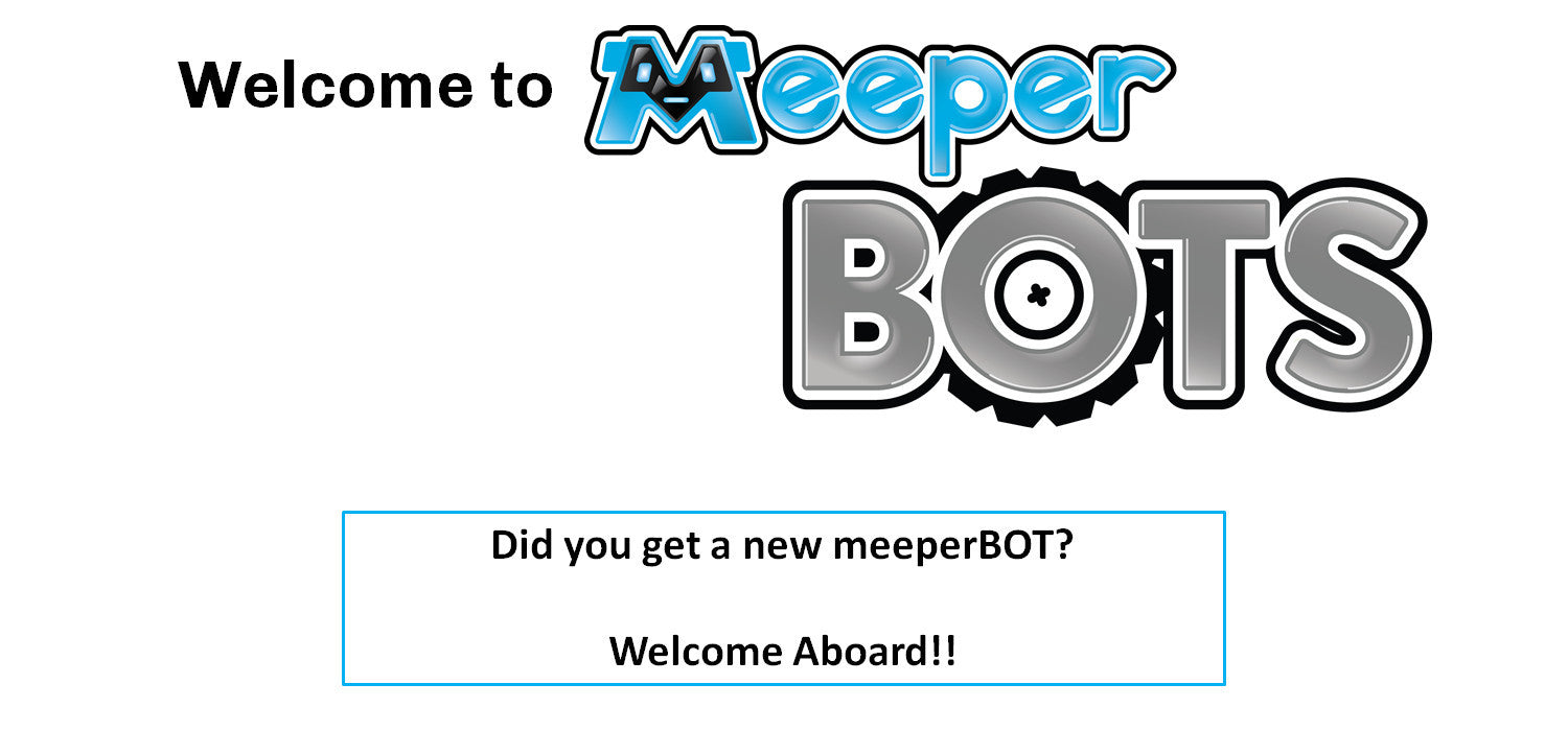 Welcome to Meeper BOTs!!