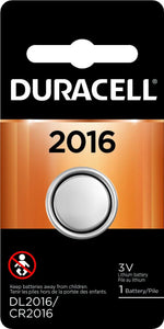 DL2016-1 Duracell 2016 Lithium Coin Cell Battery