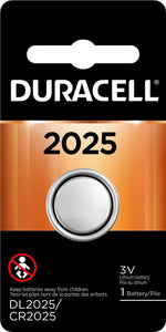 DL2025-1 Duracell 2025 Lithium Coin Cell Battery