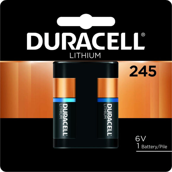 DL245BPK Duracell 6v Lithium Photo Battery