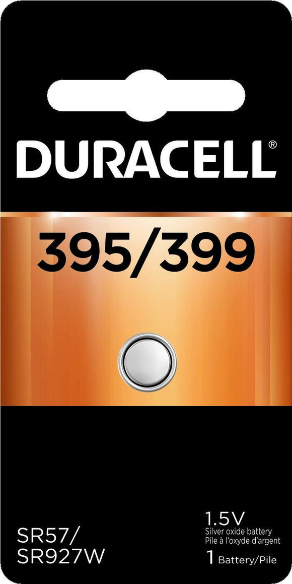 Duracell D395/399PK 1.5v Silver Oxide Button Cell