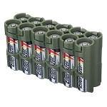 12AAMG 12AA PACK BATTERY CADDY (MILITARY GREEN)