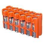 1000 12AAORG 12AA PACK BATTERY CADDY (ORANGE) - Alexander Battery