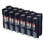 1004 12AATB 12AA PACK BATTERY CADDY (TUXEDO BLACK) - Alexander Battery