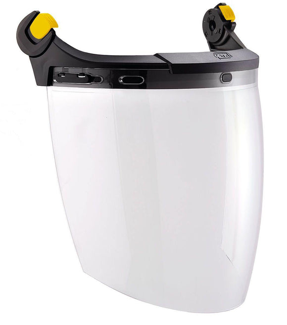 A014AA00 VIZEN Face shield for protection against electric arc hazards, with EASYCLIP system for VERTEX and STRATO helmets - Alexander Battery