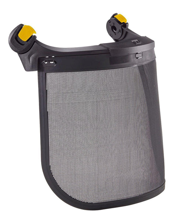 A021AA00 VIZEN MESH Face shield for tree care for VERTEX and STRATO helmets, with EASYCLIP system - Alexander Battery