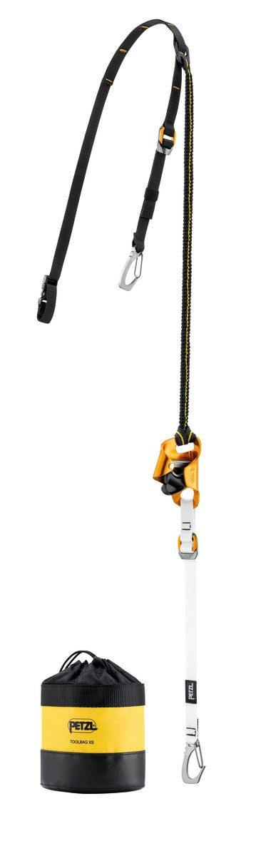 D022EA00  KNEE ASCENT CLIP Knee ascender assembly with connector for boot, facilitating single rope ascents, for tree care