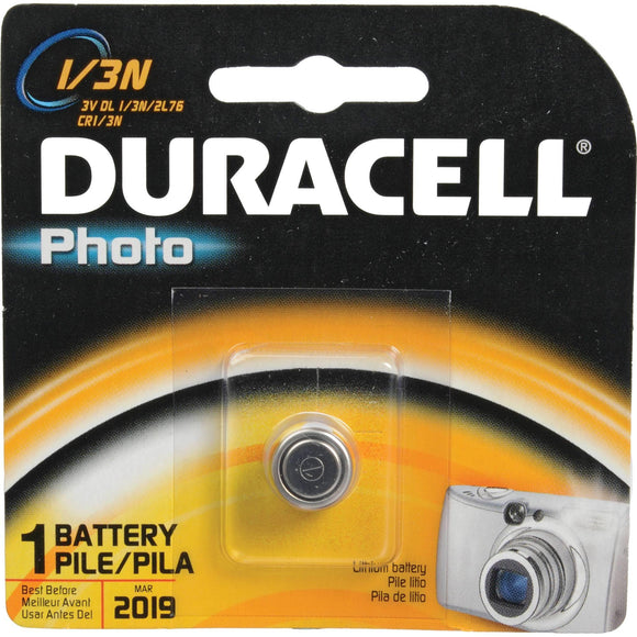 DL1/3N Duracell DL1/3N (2L76) 3 Volt Lithium Battery