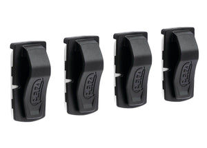 E000BA00  UNI ADAPT Adhesive clip for mounting a Petzl headlamp on any type of helmet (pack of 4). - Alexander Battery