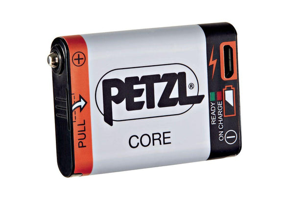 E99ACA CORE Rechargeable battery compatible with Petzl headlamps featuring the HYBRID CONCEPT design. - Alexander Battery