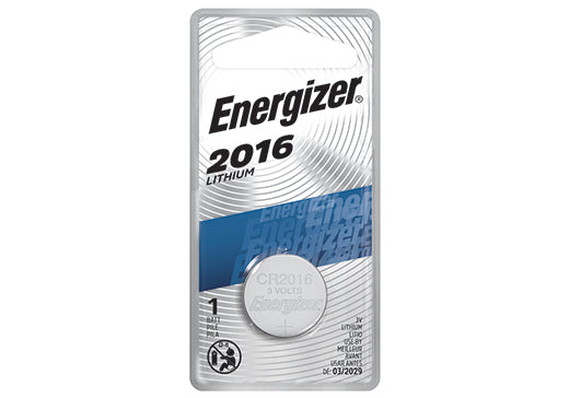 ECR2016BP ENERGIZER® 3 VOLTS 2016 LITHIUM COIN CELL BATTERY