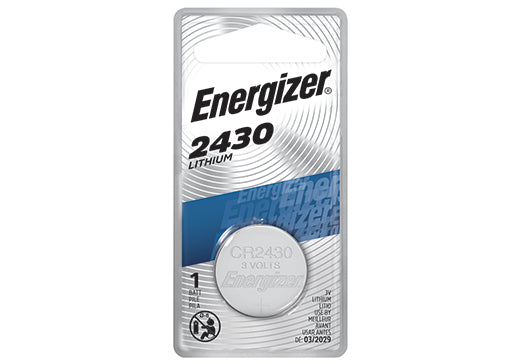 ECR2430BP ENERGIZER® 3-VOLT 2430 LITHIUM COIN CELL BATTERY