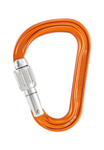 M38A SL ATTACHE Lightweight, compact, pear-shaped screw-lock carabiner