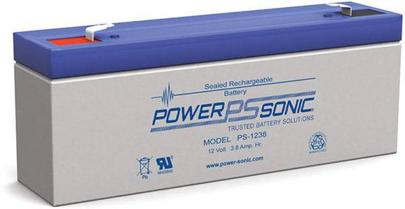 PS-1238 Powersonic 12v 3.8Ah VRLA Battery