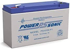 PS-6100F1 Power-Sonic 6V 12 A/H