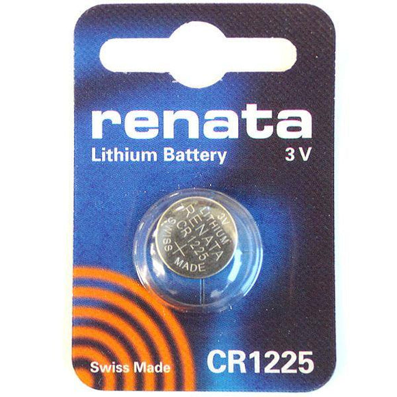 CR1225 Renata 3v Lithium Coin Cell - Alexander Battery