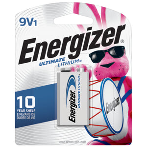 L522BP Energizer® 9 Volt Ultimate Lithium™ Battery
