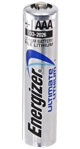 L92 24-Pack AAA Energizer Ultimate Lithium Batteries