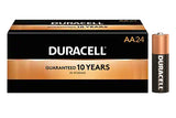 MN1500 Duracell Coppertop AA Alkaline Battery 24 Pack