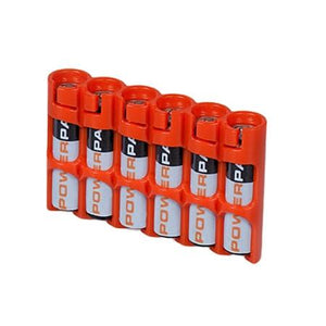 Storacell Slimline AAA 6-Pack Battery Case - Available in Assorted Colours