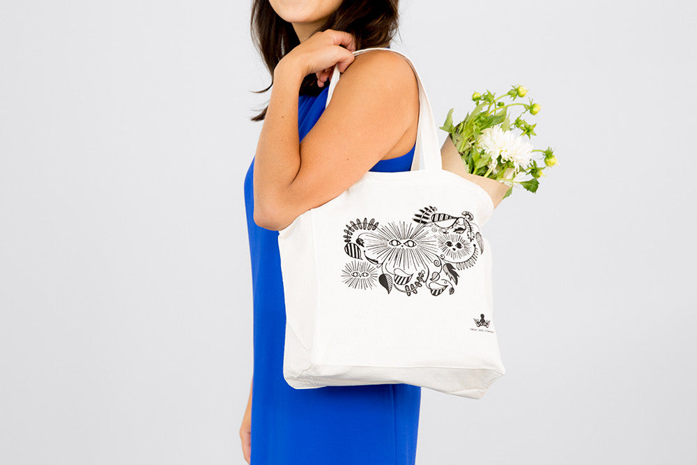 Jungle Eyes Tote